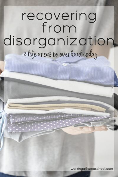 My Disorganized Mistake