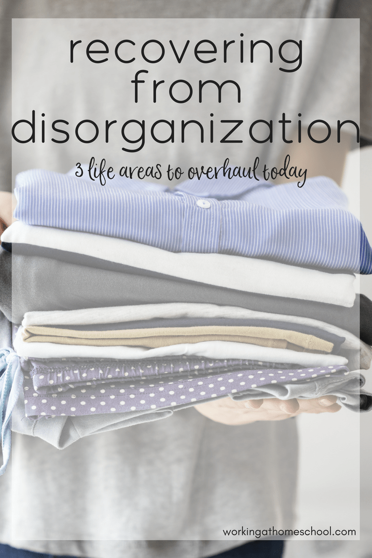 As a SAHM and WAHM, I had to make some changes to stay organized and avoid disorganization mistakes like this one.