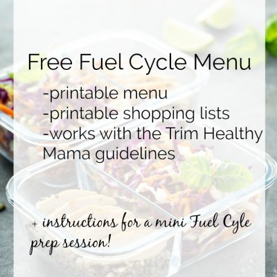 THM Fuel Cycle – My Experience & Menu