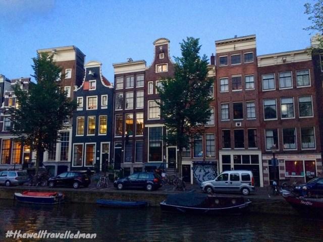 thewelltravelledman travel blog amsterdam houses