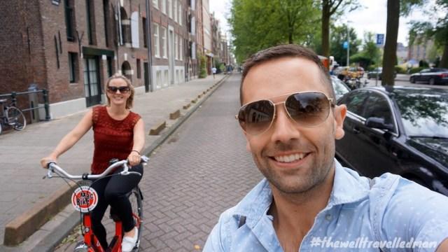 thewelltravelledman travel blog Amsterdam mac bike rental exploring the city