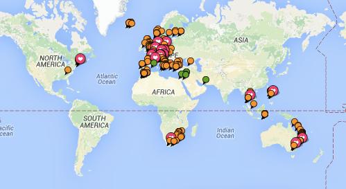thewelltravelledman trip advisor map explore the world wanderlust bucket list