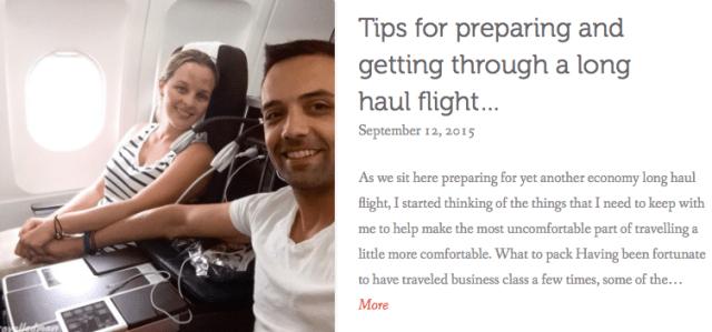 thewelltravelledman tips for preparing for a long haul flight