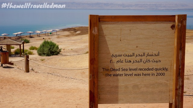 thewelltravelledman the dead sea jordan