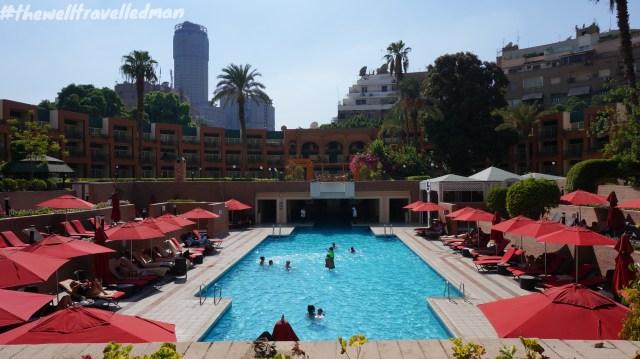 thewelltravelledman cario marriott pool grounds