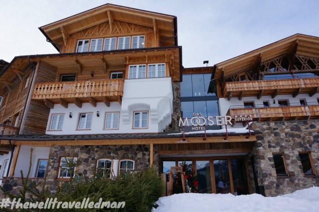 thewelltravelledman Mooser Hotel St Anton Austria