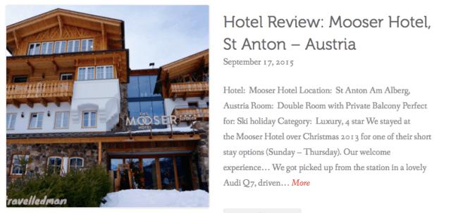 thewelltravelledman das mooser hotel review