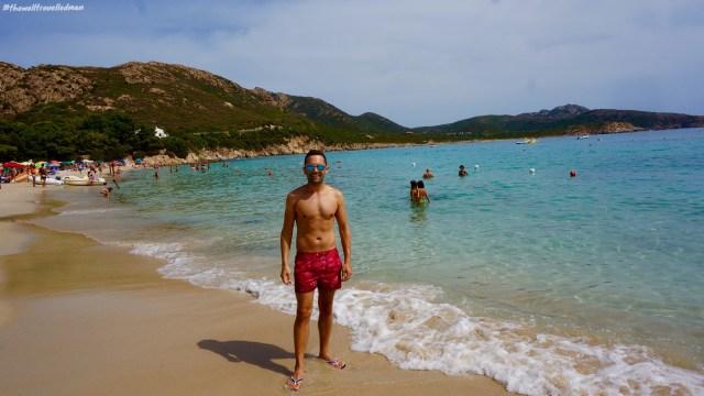 thewelltravelledman Tuerredda beach sardinia