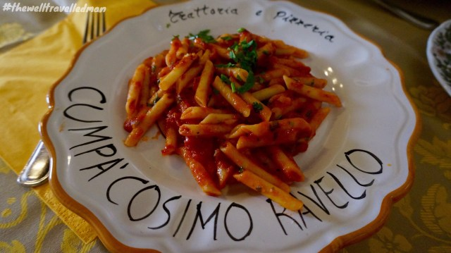 The most delicious Penne Arrabbiata