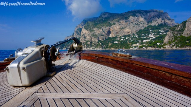 On our way to the Island of Capri