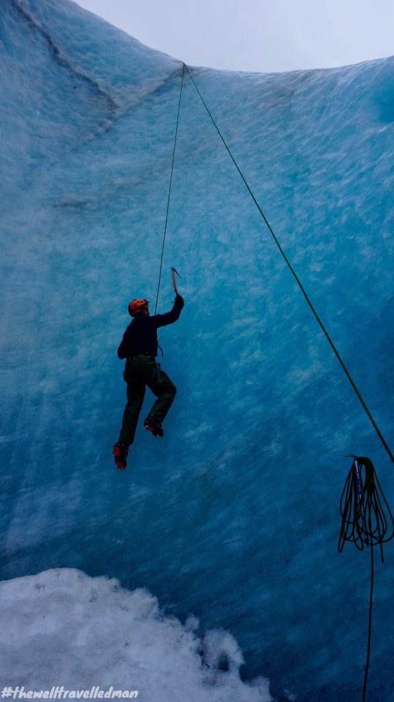 Ice Climbing at Sólheimajökull glacier