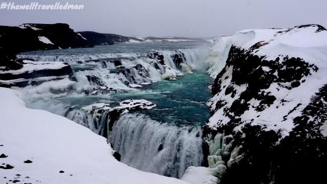 thewelltravelledman iceland gullfoss waterfall