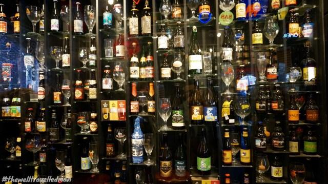 Belgium Beer Wall