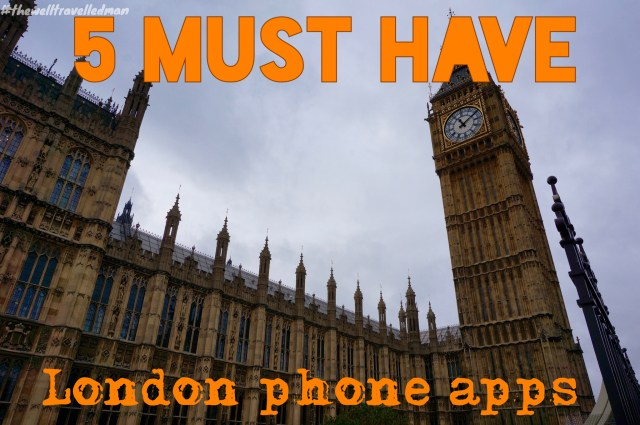 thewelltravelledman london must have apps