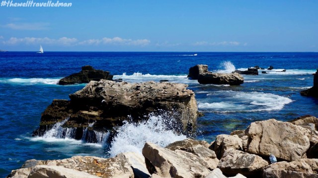Enjoying the amazing water on the island of Favignana