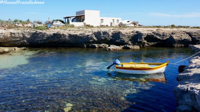 A gorgeous swim spot on the island of Favignana