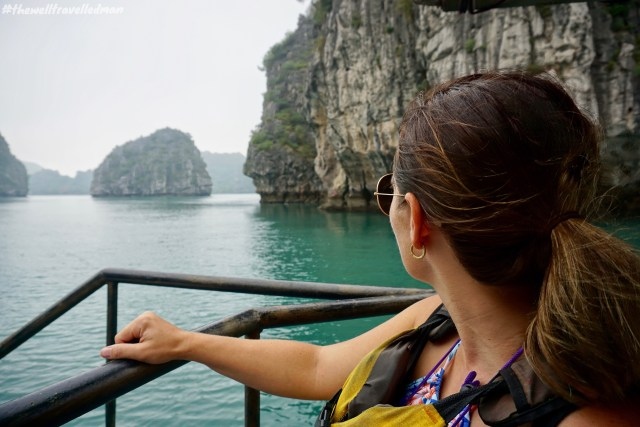 thewelltravelledman halong bay 2 night cruise indochina junk