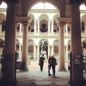 The Galleria di Brera