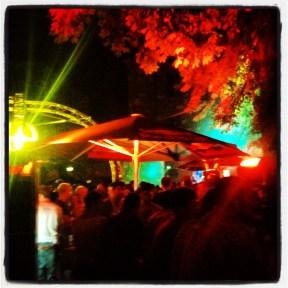Rave at Praterinsel