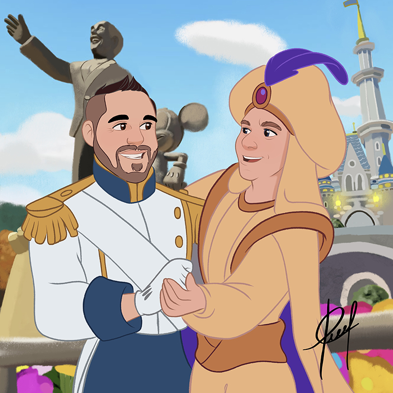 Princes in wonderland (2)