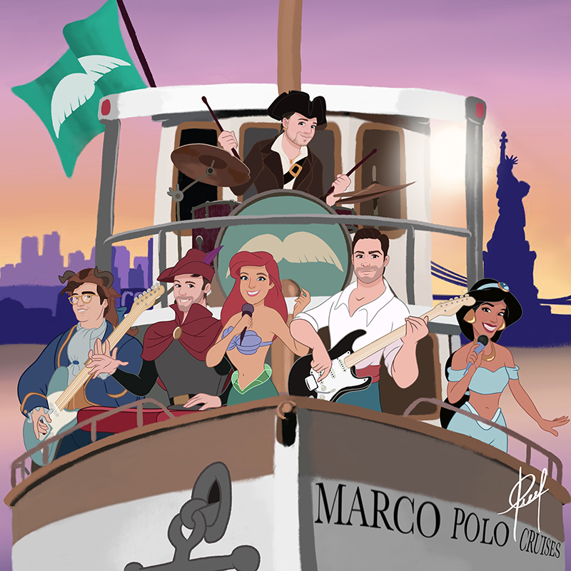 The Little Mermen - Cruise