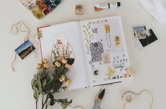 How to Create Your Own DIY Handmade Art Journal