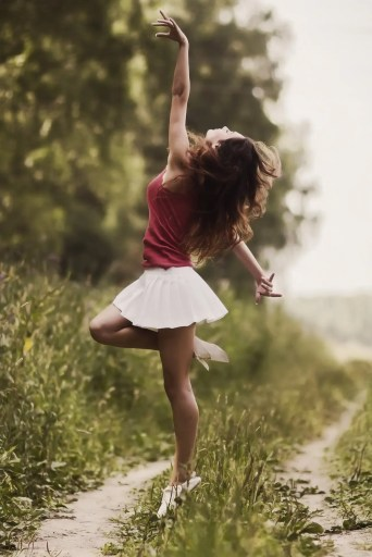 embrace change slowly and dance with all the newness change brings