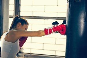 A Punching Bag and Boxing Gloves: An Unconventional Relationship