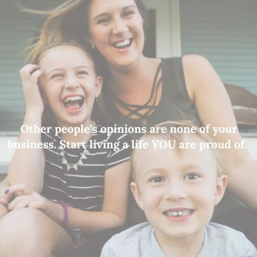 People pleasing, other peoples opinions, motherhood