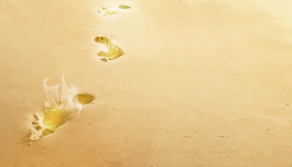 You are currently viewing Footprints Outlined in Wisdom: A Poem for the Heart