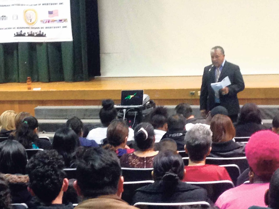 Residents Learn About Gang Violence Prevention