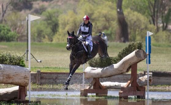 equestrian competition in California