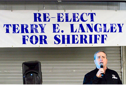 Carroll County Sheriff Terry Langley running for reelection