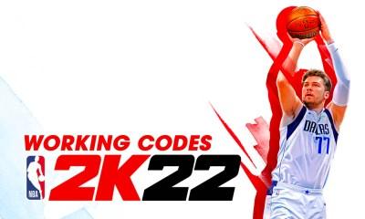 NBA 2K22 Locker Codes List September 2021