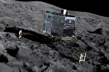 ESA will land a spacecraft on comet come November 12