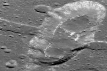 evidence of recent volcanic activity on moon