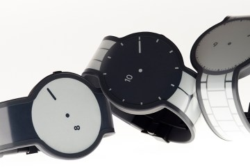 Sony unveils Fes smartwatch with e-paper technology