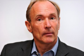 British computer scientist Tim Berners-L