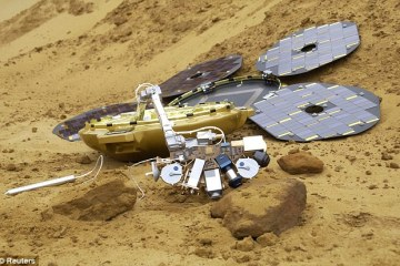 Beagle2 probe lost 11 years ago on Mars found intact again