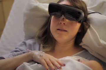 New-Device-Lets-Blind-Mother-See-New-Baby