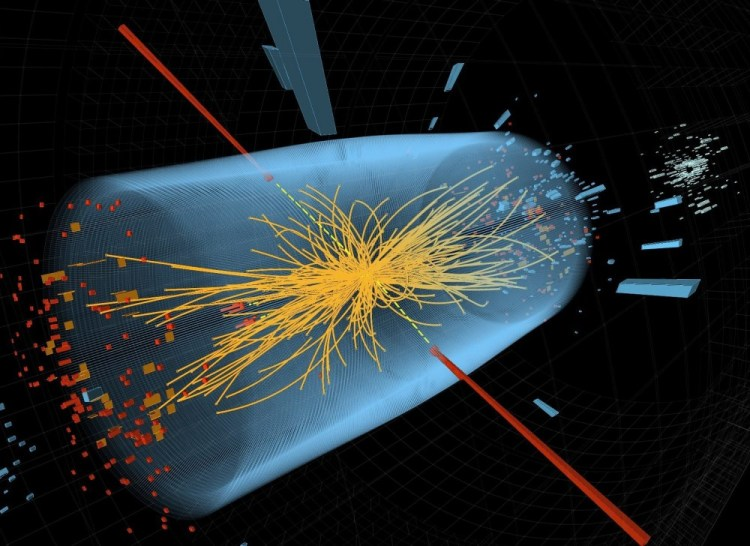 Higgs Boson was discovered by Homer Simpson 14 years before scientists