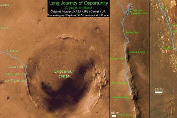 NASA celebrate Mars Rover Opportunity Marathon achievement
