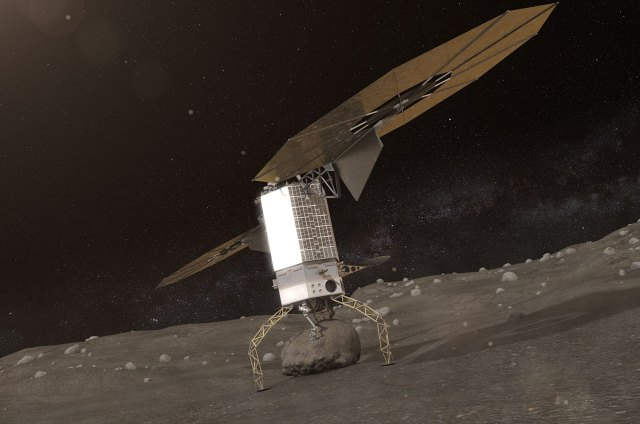 A mission by NASA to pluck a Boulder off an Asteroid