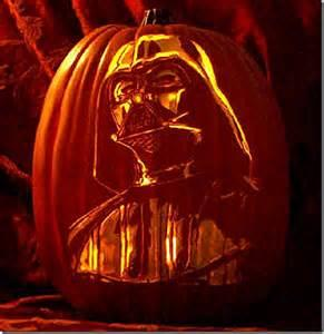 darth vadar pumpkin