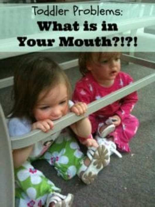 Things in Kids Mouths