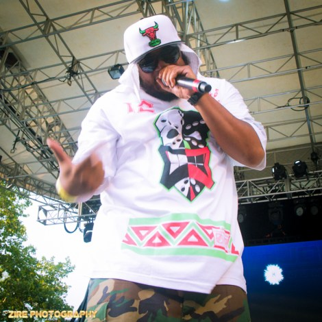 Big Daddy Kane invites the Legendary Rapper Craig G to the stage to perform the Symphony Live Performance at the Rock Steady Crew 38th Annual Celebration held on Sunday, July 26, 2015 at Central Park in New York City
