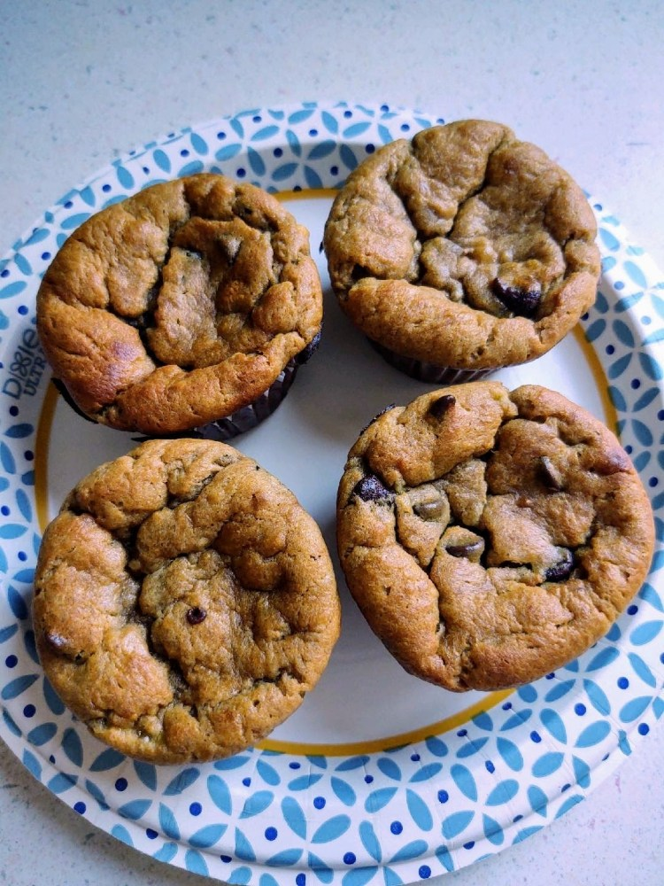 Banana muffins. Photo by Elizabeth Czajkowski.