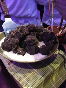 Truffles at the Zuma booth. No one will notice if I take some in my purse right?