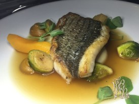 Oven Roasted Filet of Wild Striped Bass