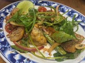 Crispy Fish Onion Salad